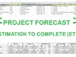 Deliver a Project Forecast