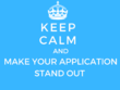 Help you write your university application