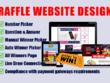 Design Professional Raffle Website