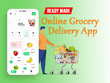 On Demand Grocery Android & iOS App