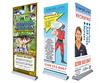 Design you a rollerbanner/pop up banner/hanging banner