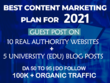 Guest post on 15 High DA Websites with Unique Content DA 50-90+