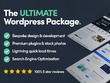 The ULTIMATE Wordpress website package + SEO + Speed Op