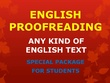Proofread English Text of upto 2000 Words in 24 Hours