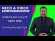 Be your HD Video Spokesperson Website Presenter