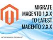 Migrate Magento 1 site to Magento 2