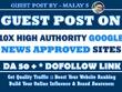 10X Guest Post on Google News Approved Websites - MOZ DA50+