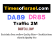 Guest Post on Timesofisrael -Timesofisrael.com - DA89 - Dofollow