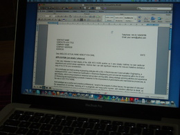 Write a winning cover letter for your CV