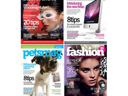 Design amazing cover for your magazine or book