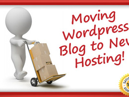 Move wordpress website from one host to another hosting