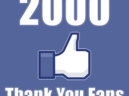 Get your facebook business page 2,000 likes