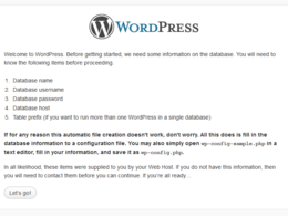 Install Wordpress or another CMS