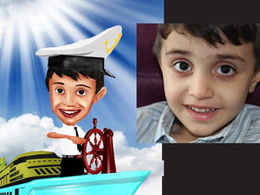 Draw your full size caricature, vector avtar ,illustration and cartoon character