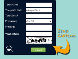 Add a captcha field to your php form