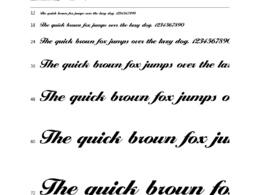 Create a TTF font