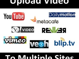 Manually upload your video to Top 20+ videos sharing sites
