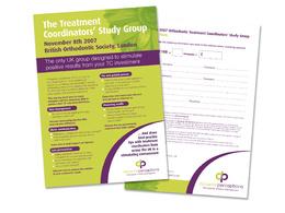 Design a 2 page flyer or leaflet