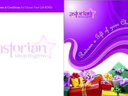 Design the brochure and flyers