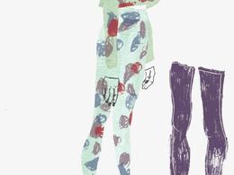 Complete a fashion illustration