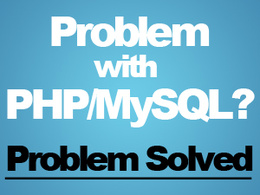 Fix your PHP/MySQL error