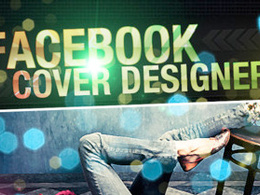 Design a Facebook page cover for your company or brand page