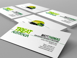 Create double sided business card
