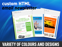 Design your e-mail Newsletter