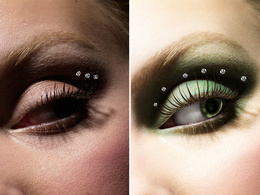 Work on high-end photo retouching