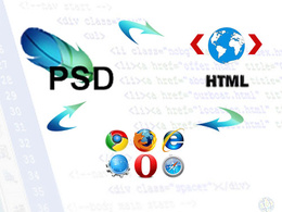 Convert your PSD to HTML & CSS