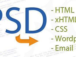 Coding PSD to HTML, CSS & JS