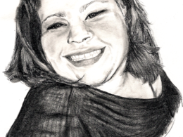 Draw a portrait or detailed illustration