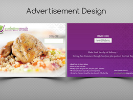 Design Magazine / Newspaper Advertisement Design