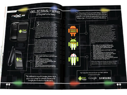 Design a magazine layout