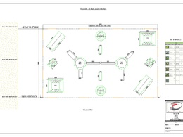 Design and co-ordinate simple 2D CAD drafts