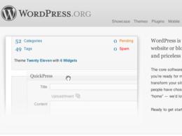 Install, configure & theme Wordpress
