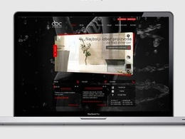 Design home page web site layout