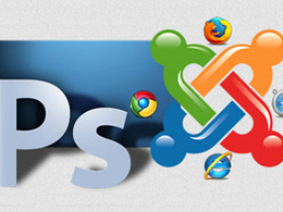 Convert psd to Joomla template