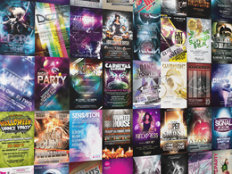 Design a professional poster for you event or business