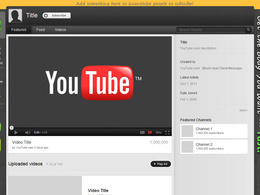 Make you a personalised youtube background for your business