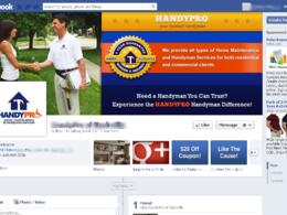 Design a facebook page