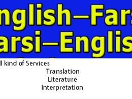 Translate your texts into Persian ( Farsi ) or your Farsi texts into English Language