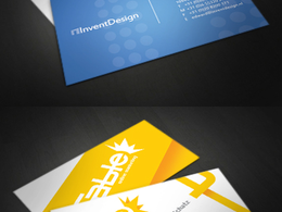 Design fancy business card