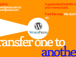 Transfer a WordPress site to another