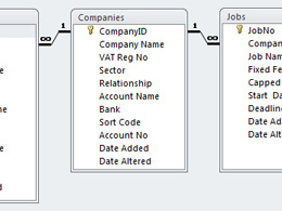Design & set up your database tables in Access