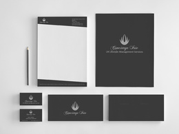 Make you a complete stationery set for your  business