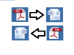Convert your pdf document to MS word 50 pages
