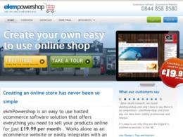 Help you setup and manage your EKM Powershop.