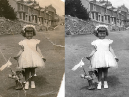 Restore old and damged photos