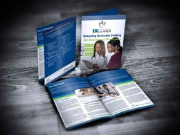 Design a brochure with unlimited revisions